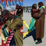 Recreating a classic moment with the ragin' Cajun #cosplay #rogue…